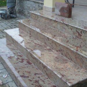scara exterioara granit